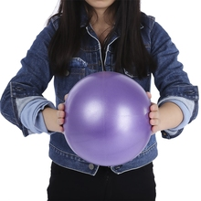 Nieoqar 25cm йога мяч для упражнений для гимнастики и фитнеса пилатес мяч для упражнений на балансирование тренажерный зал Фитнес Core искусственного меха обучения для йоги