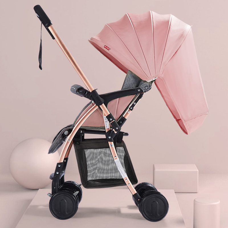 A817 Portable Two-Way High Landscape Lightweight Baby Stroller Four-Wheeled Breathable Newborn Stroller Folding Baby CartsA817 Portable Two-Way High Landscape Lightweight Baby Stroller Four-Wheeled Breathable Newborn Stroller Folding Baby Carts
