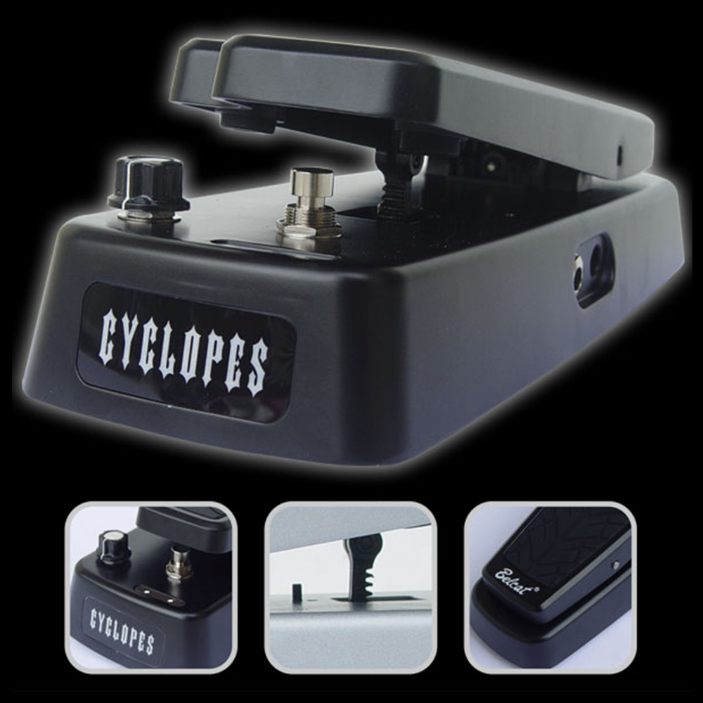 цена на Belcat CYCLOPES Wah Guitar Effect Pedal True bypass / Split bypass Switch 6 Way Range Select Switch Electric Guitar Effects