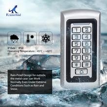 Realhelp система контроля доступа кардридер 3-10 см 125 кГц IP68 металлический считыватель Автономный контроль доступа клавиатура код вход защита