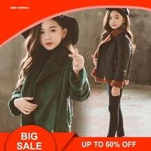 Jackets For Boys 2019 Fall Fashion Brand Leather Fur Jacket Children Winter Girls Outerwear Coats Infant Kids Long Sleeve Coat недорого