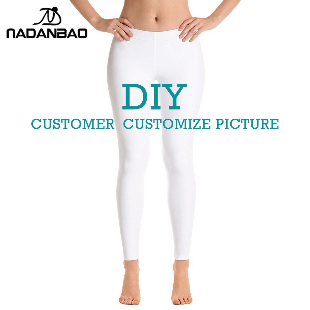 Leggings diy mulheres impressão digital 3d legings personalizar fitness leggin treino mais tamanho
