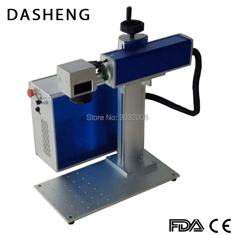 Free Shipping Cnc Fiber Laser Marker 20w For Stainless Steel Aluminum Steel