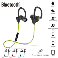 56S Wireless Bluetooth Earphone Sports Sweat Proof Stereo Earbuds Headset In-Ear Earphones With Mic For IPhone & Smartphone syllable d300l sweat proof sports bluetooth earphones with mic