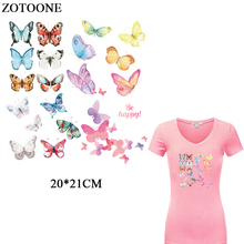 ZOTOONE Iron On Transfers For Clothing DIY T-shirt Dresses Beautiful Battery Patch Applique Thermal Transfer Printer Heat Press 29 38cm 8 in 1 combo heat press printer machine 2d thermal transfer printer for cap mug plate t shirts printing