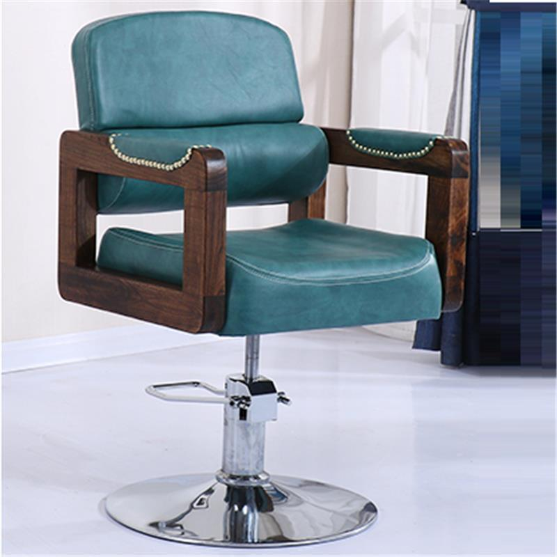 Image 3 - Sedie Cabeleireiro Stoel Cadeira De Barbeiro Stoelen Nail Furniture Kappersstoelen Silla Barbershop Salon Barbearia Barber Chair-in Barber Chairs from Furniture