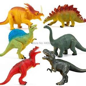 Image 5 - 21 estilos de ação & brinquedo figuras modelo brachiosaurus plesiossauro tiranossauro dragão dinossauro coleção animais modelo brinquedos