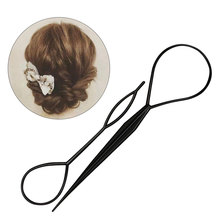 Hairs Styling Tools 2PCS Hair Style Maker Accessories Pin Disk For Women Girls Kids DIY Pull Pins