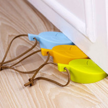4pcs Silicone Door Stop Wall Mute Crash Pad Cabinet Guard Wind Dust Blocker Anti-collision House Stopper