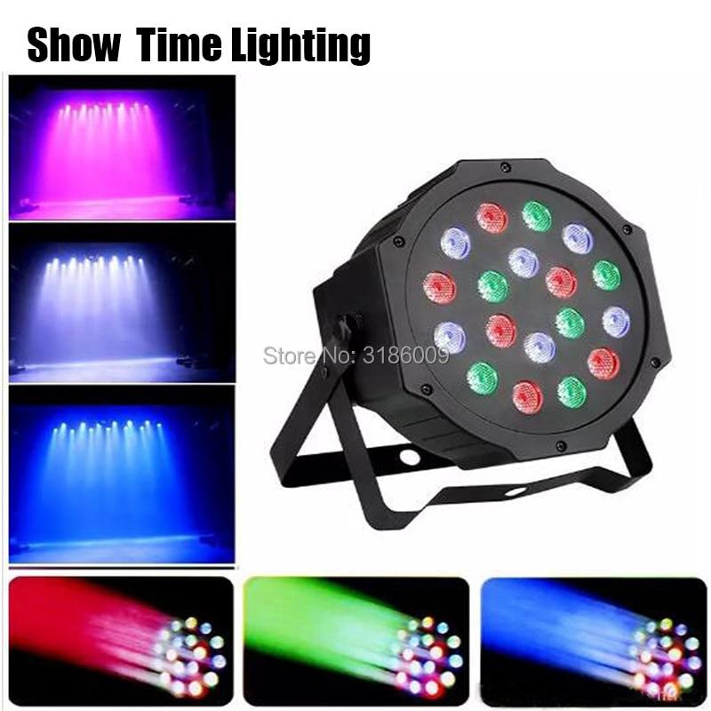 Hot Sales Plastic Dj Led Par RGB Light Mini Disco Led Par Lighting Good Use For Night Club Dj Show Home Entertainment Party KTV