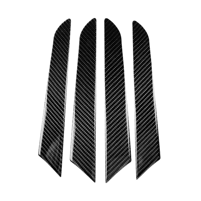 لمازدا CX 5 CX 5 2017 2018 4 قطعة/المجموعة الكربون الألياف سيارة نافذة داخلية الباب لوحة غطاء
