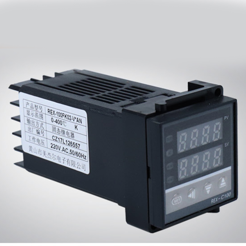 Dual Display Pid Digital Temperature Controller Rex C100