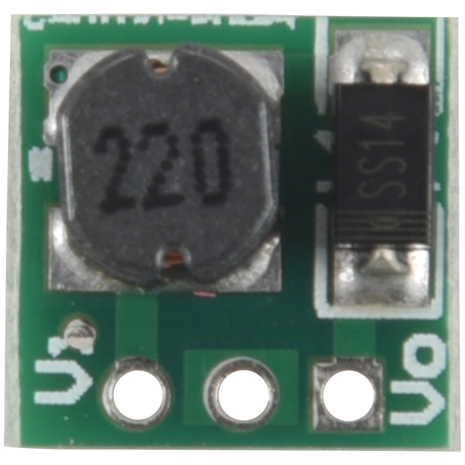 0.9-5V To 5V DC-DC Step-Up Power Module Voltage Boost Converter Board 1.5V 1.8V 2.5V 3V 3.3V 3.7V 4.2V To 5V Green tools for screen printing