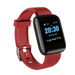 "Image 4 - D13 1.3"" Color Screen Smart Watch 116 PLUS Smart Bracelet Blood Pressure Oxygen Monitor Visible Message Show Smartwatch Bracelet"