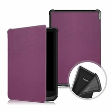 Solid Cover for PocketBook Touch Lux 4 616 Ultra Slim Smart PU Leather Case funda for PocketBook 627 632/Basic Lux 2 Case цена и фото