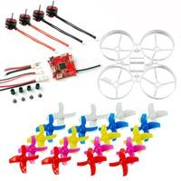 75mm Indoor Whoop Racer Drone Mini Frame Kit & Crazybee F3 FC Brushless ESC & SE0703 Motor & 40mm 4 Blades Propeller
