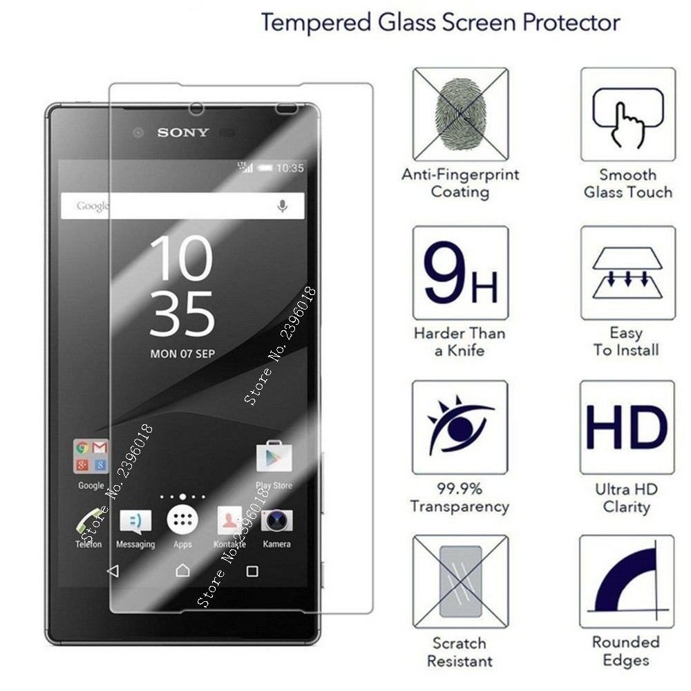 Protective <font><b>Glass</b></font> On The For <font><b>Sony</b></font> <font><b>Xperia</b></font> 10 Xa1 X Xa2 Ultra Screen Protector Xz1 Xz2 Compact L1 <font><b>L2</b></font> L3 Tempered Glas Tremp Film image
