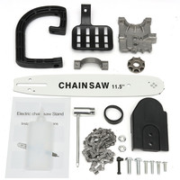 11.5 Inch Chainsaw Bracket Change 115mm Angle Grinder Into Chain Saw Angle grinder upgrade accessories