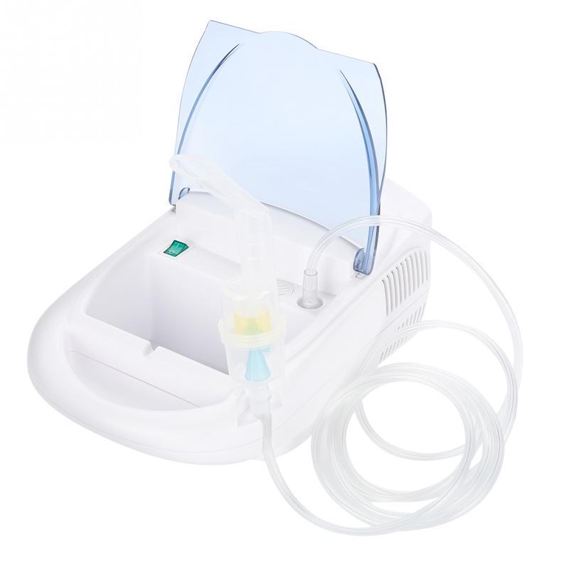 220V EU Plug Portable Nebulizer Compressor Machine System Kit Inhaler Spray Steamer Humidifier Kit Health Care Children Hot-in Facial Steamers from Home Appliances    1