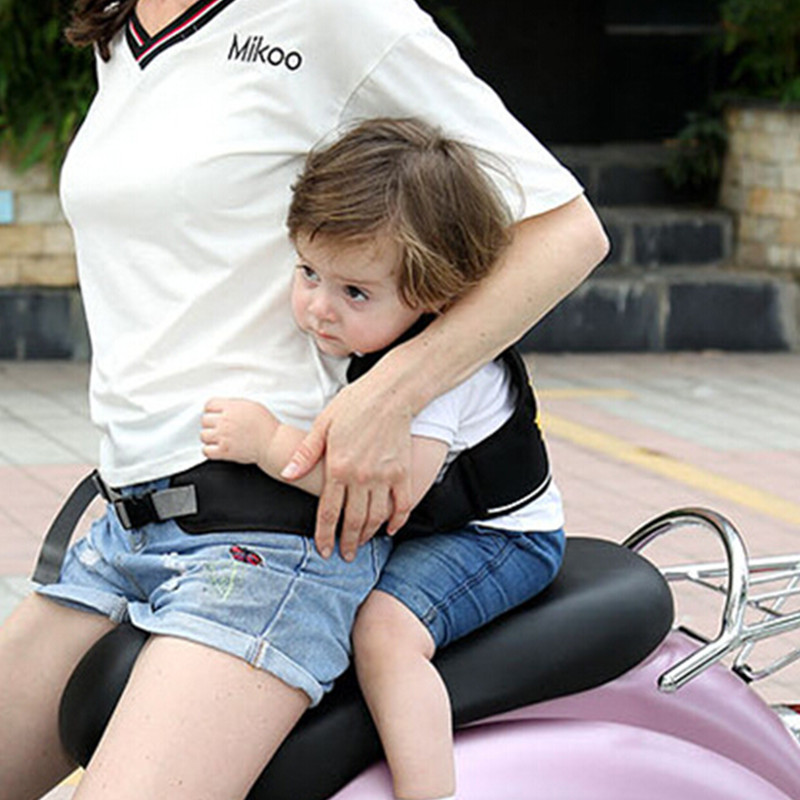 Children Motorcycle Safety Harness Belt Cartoon Baby Carrier Seat Adjustable Safety Belt Insurance Back Hold Protector in Combinations from Automobiles Motorcycles