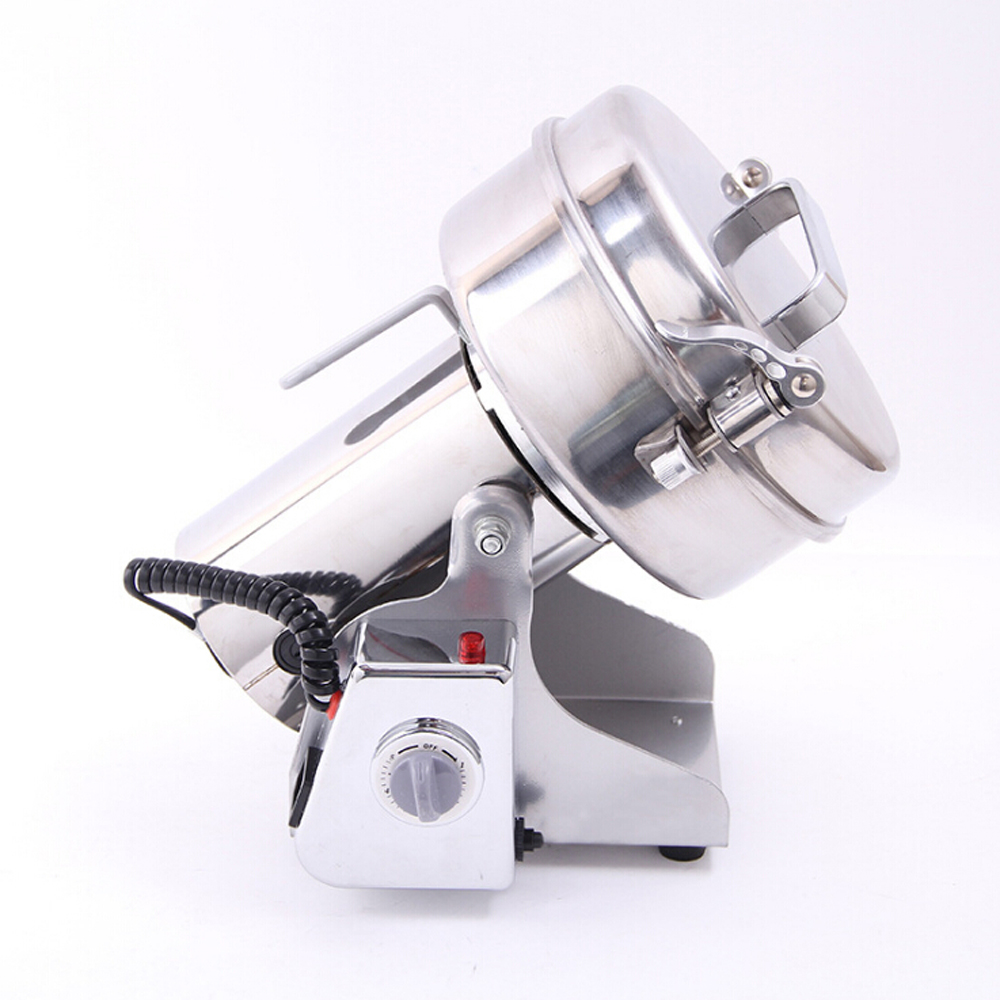 ITOP 1000g Capacity Pulverizer Machine Multifunction Electric Food Grain Grinder Chopper Soybean Automatic Milling Pulverizer