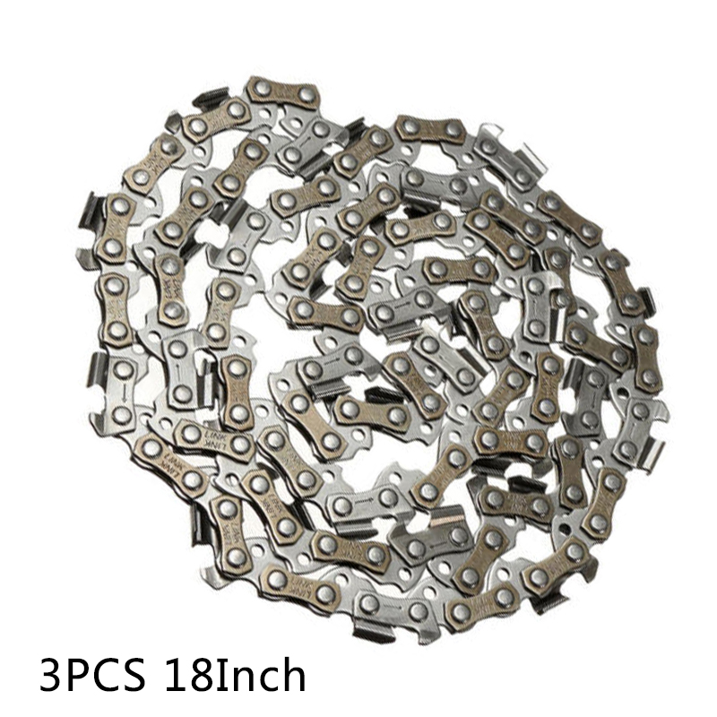 18 Saw-Chain Blade 3/8 LP 0.050 Gauge 62DL Replace Fits For Poulan Chainsaw18 Saw-Chain Blade 3/8 LP 0.050 Gauge 62DL Replace Fits For Poulan Chainsaw