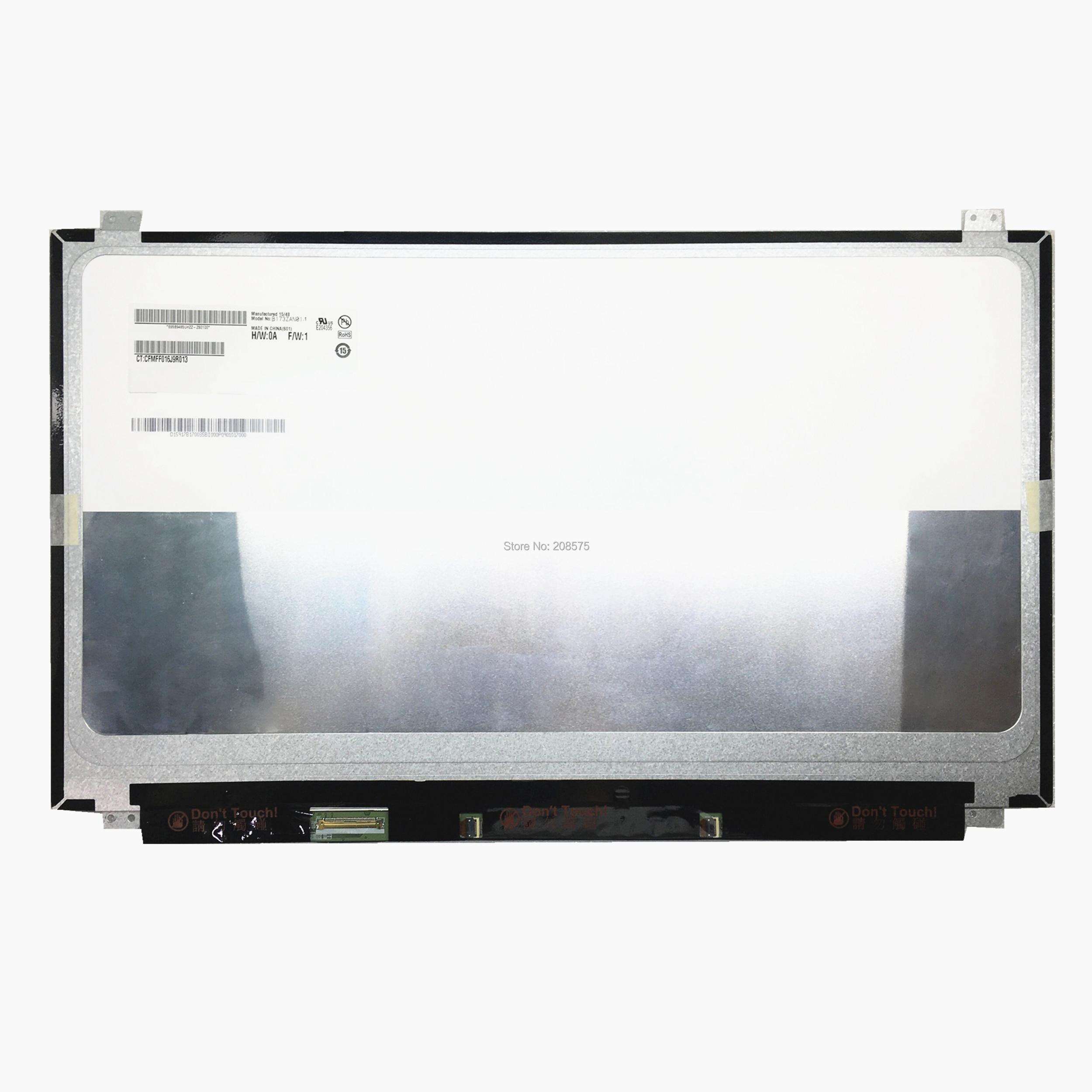 Free shipping B173ZAN01.1 B173ZAN01.0 B173ZAN01.4 17.3inch 4K IPS Laptop LCD screen 3840*2160 EDP 40 PinsFree shipping B173ZAN01.1 B173ZAN01.0 B173ZAN01.4 17.3inch 4K IPS Laptop LCD screen 3840*2160 EDP 40 Pins