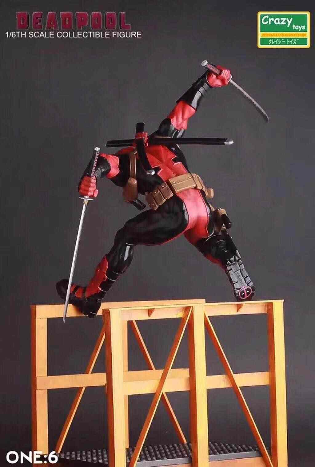 Crazy Toys Marvel Legends Deadpool Wade Wilson 12/'/' Statue Figure