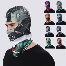 3D Balaclava Face Mask Motorcycle Full Cycling Warmer Headwear Windproof Breathable Motocross Ski