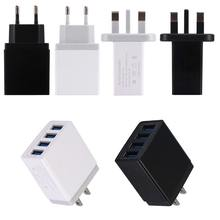 4 USB 5 V 5.1A Travel Charger Power Adapter Voor Smartphone Tablet PC(China)