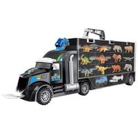Dinosaur Model Transport Vehicle Tractor Animal Doll Transport Truck Toy Jurassic Animal Collection For Children's Gifts