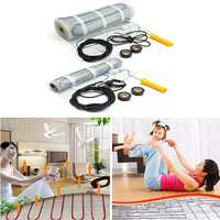 Underfloor Heating Mat 1 12 square Home Floor Warming Film Tile Kit 230V 200W/160W Electric heating pad