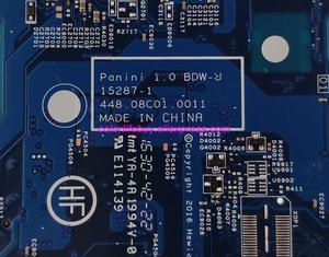 Image 4 - Echtes 856692 601 856692 001 15287 1 448.08C01.0011 w i3 5005U CPU Laptop Motherboard für HP Notebook 17 17 X Serie PC
