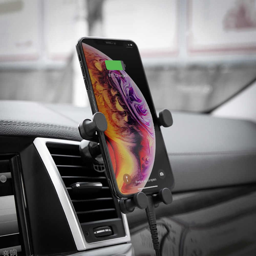 ユニバーサル車の携帯電話ホルダー S9 S8 プラス車重力電話ブラケットの i 電話 5 5 s SE × 10 6 6 s 7