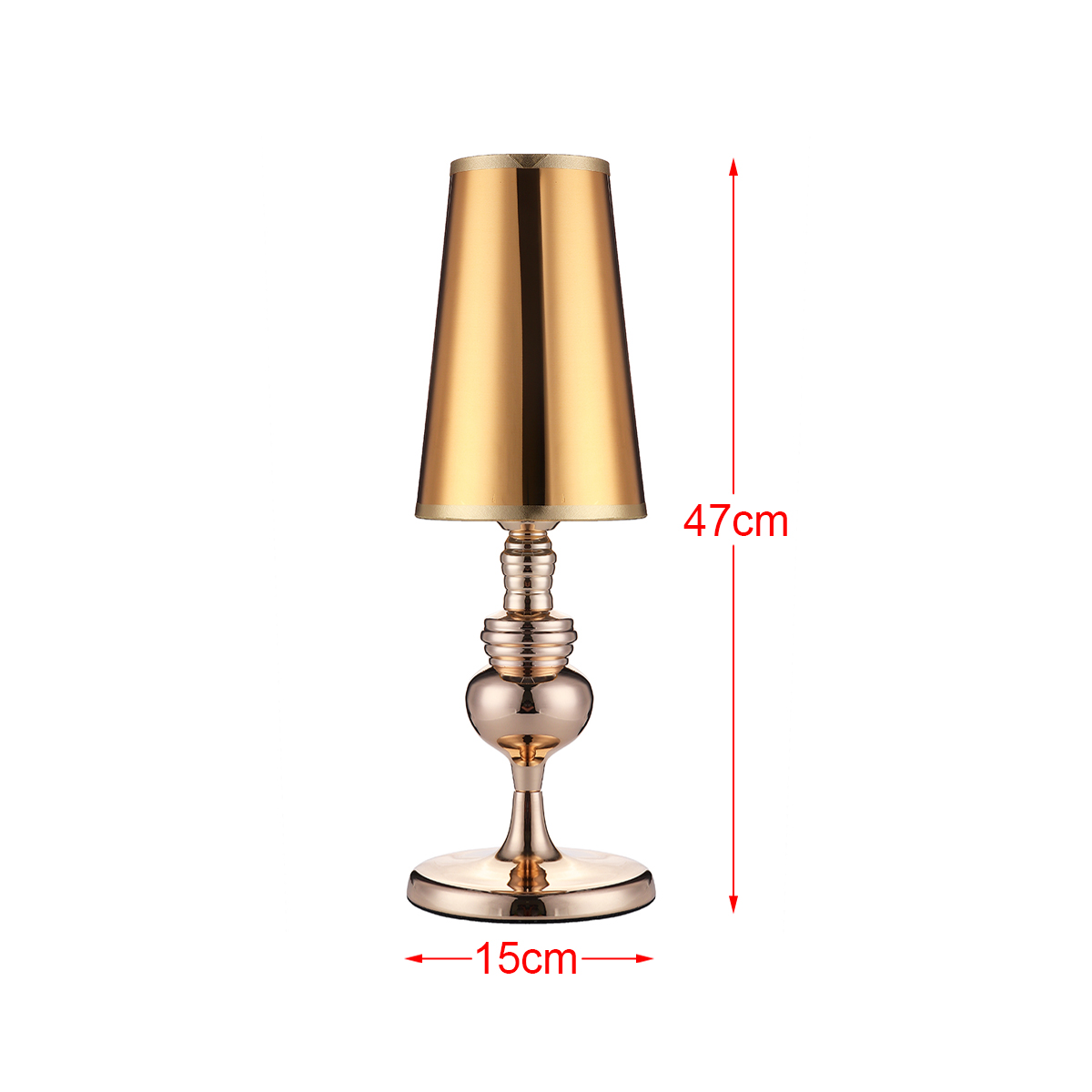 Table Lamp Home Decoration Gift Nightlight Modern 47cm Height High-Glos  Art Bedroom Bedside Lamp Indoor Living Room Lights