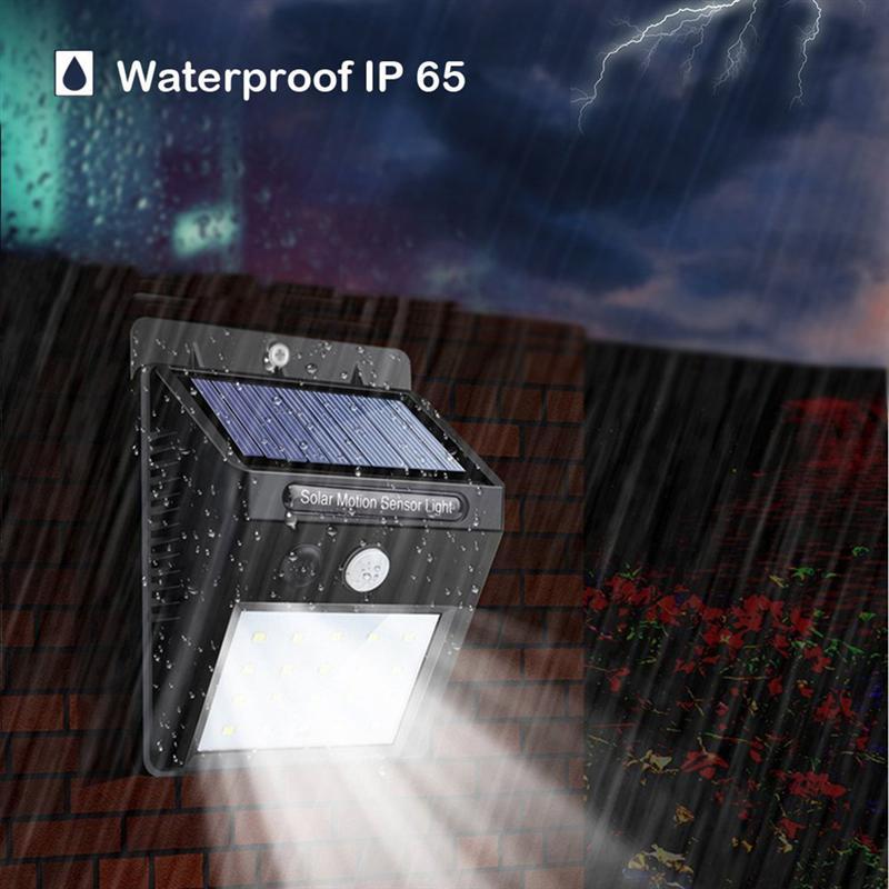 Garage Sconces Exterior Wall Mounted Light Fixtures Doors: 1pc Solar Light Motion Sensor Outdoor Wall Mounted Wall