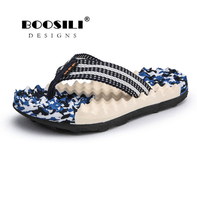 Zapatillas Hombre Rushed 2019 New Flip Flops Men Outdoor Casual Cool Slippers High Quality Male Stripe Flat Bath