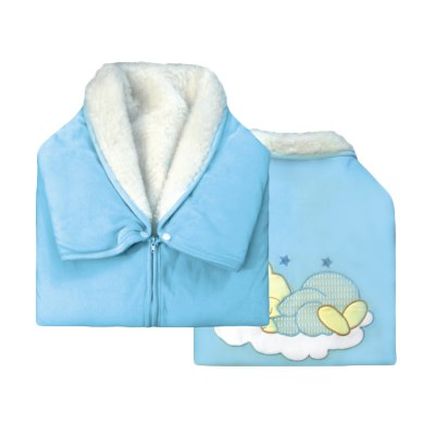 цена 3002 Plaid flap fur velour (30022 blue)