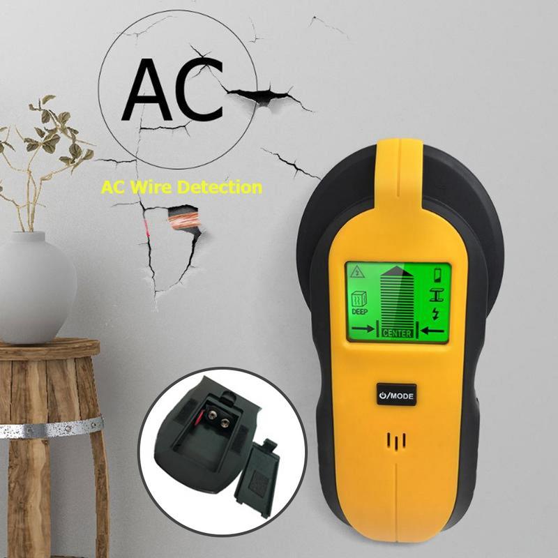 3 en 1 LCD numérique Stud Finder mur Scanner câble électrique fil détecteur câblage Center de bois trouver des goujons de métal détecteur