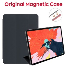 2019 Official Smart Magnetic Case for iPad Pro 11 2018 Ultra Thin Wake PC Cover 12.9 Inch Funda Solid