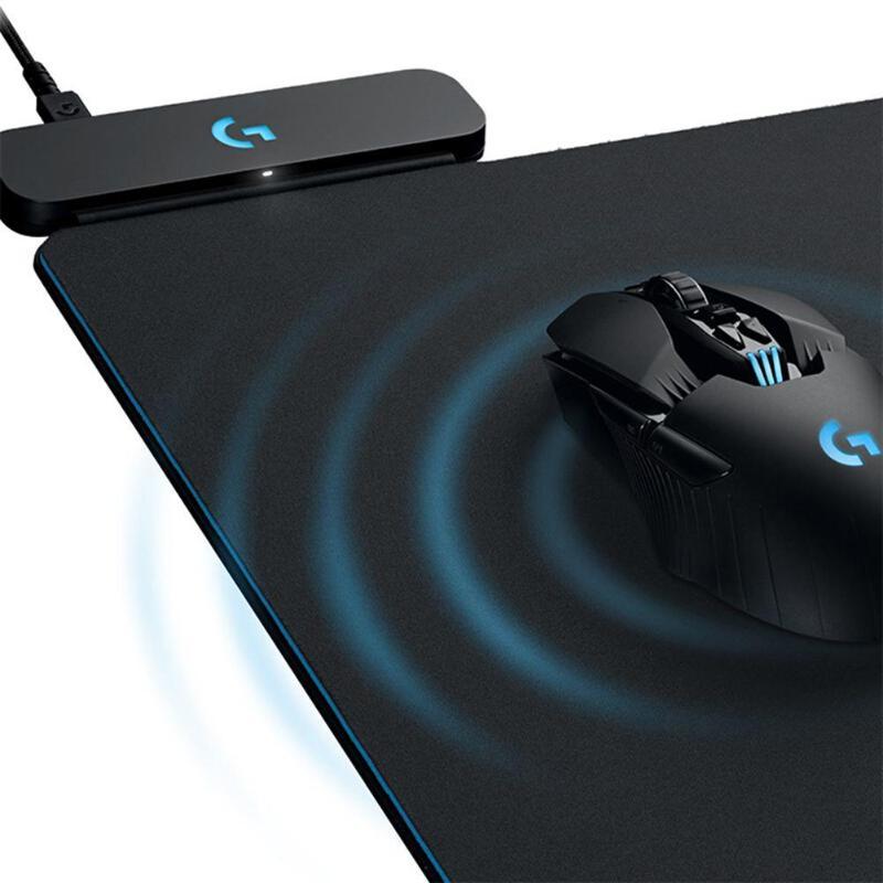 Logitech tapis de souris de jeu de charge sans fil pour G703 G903 321*344*2mm USB jeux souris système Powerplay pour PC ordinateur portable