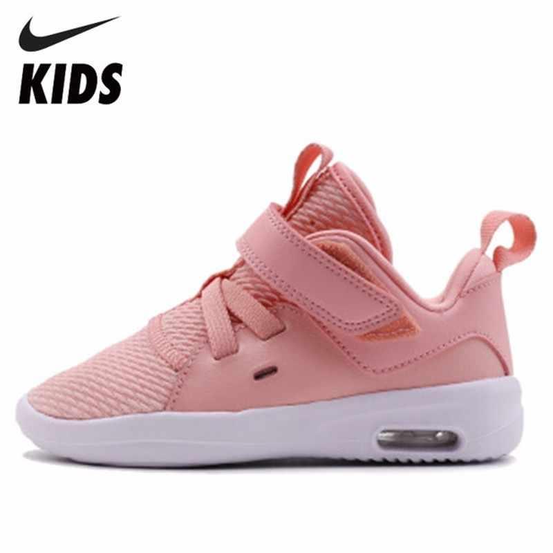 450692ec69 Nike Child Shoes Boy And Girl Autumn New Pattern JORDAN Children Magic  Subsidies Air Cushion Sneakers