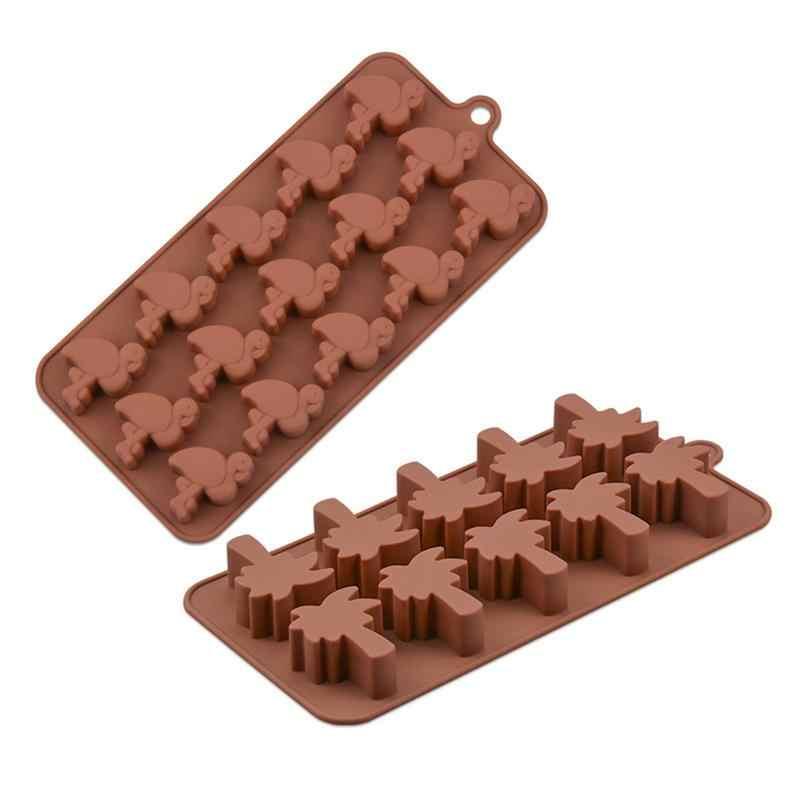 القيقب الصبار الكرز فلامنغو قالب من السيليكون كعكة أدوات الخبز DIY بها بنفسك علبة ثلج قالب الشوكولاته المعجنات الخبز كعكة أدوات