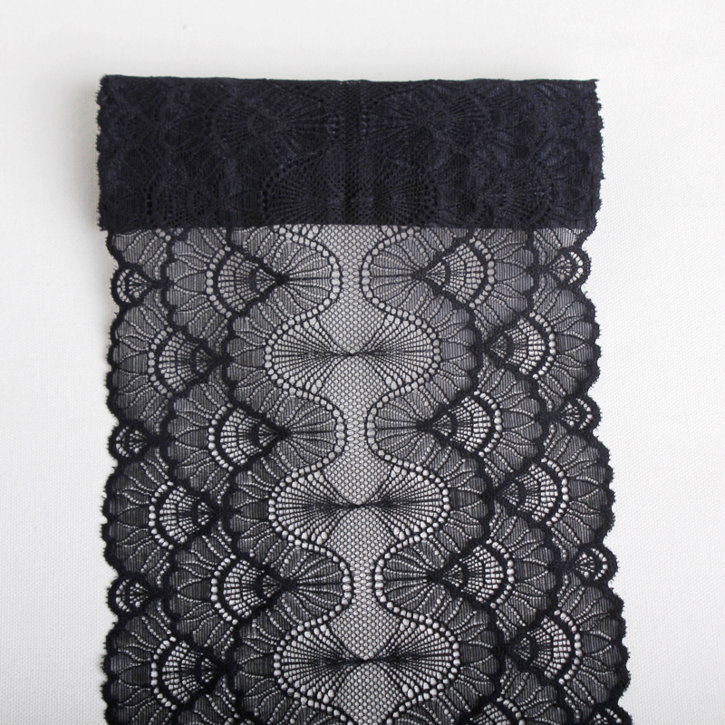 6Yards 18cm black Elastic mesh Lace Trims underwear Women's Bra Stretch lace Fabrics Decorative Clothing  Sewing Accessories DIY-in Lace from Home & Garden on Aliexpress.com | Alibaba Group