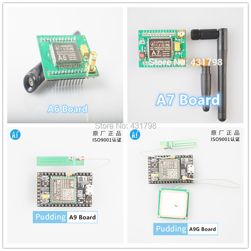 Elecrow A6 GPRS GSM Module for Arduino Electronics Integrated