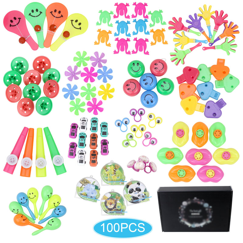 100 Pcs Birthday Pinata Fillers Party Supplies Giveaways Prizes Assorted Small Toys Set Classroom Treasure Box Party Gift Favors