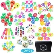 100 Stuks Verjaardag Pinata Vulstoffen Feestartikelen Giveaways Prijzen Diverse Kleine Speelgoed Set Klas Schat Box Party Gift Gunsten