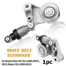 3.0L Drive Belt Tensioner Car Belt Tensioner For Nissan Patrol GU Y61 2000-2007 GR II Wagon Y61ZD30 Turbo 2000-2017