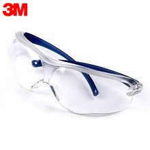 3M 10434 Safety Glasses Work Goggles Anti wind Anti sand Anti Fog Anti Dust Resistant Transparent Eyewear Protective Glasses