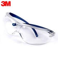 3M 10434 Veiligheidsbril Werken Bril Anti Wind Anti Zand Anti Fog Anti Dust Slip Transparant Eyewear beschermende Bril
